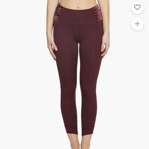 Free People Movement Wonderstruck Velvet Leggings